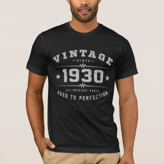 Vintage 1930 Birthday T-Shirt