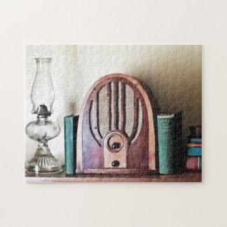 Vintage 1930s Radio Jigsaw Puzzle