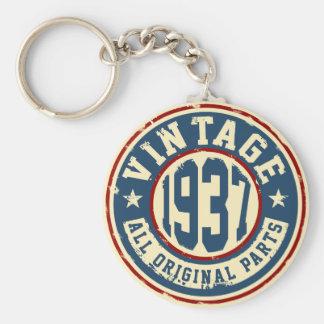 Vintage 1937 All Original Parts Keychain
