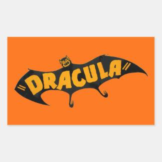 Vintage 1938 Dracula Vampire Bat Sticker