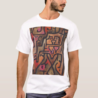 Vintage 1938 Paul Klee Forest Witches T-Shirt