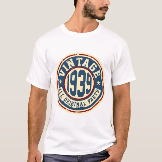 Vintage 1939 All Original Parts T-Shirt