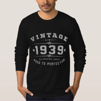 Vintage 1939 Birthday T-Shirt