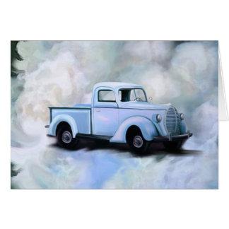 Vintage 1939 Truck Card