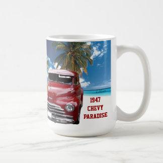 Vintage 1940 & 1947 Chevy Paradise Mug