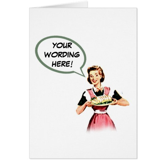 VINTAGE 1940 GREETING CARD 2 ~ CUSTOMIZE!