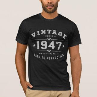 Vintage 1947 Birthday T-Shirt