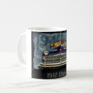 Vintage 1947 Chrysler Car Automobile, Coffee Mug