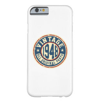 Vintage 1948 All Original Parts Barely There iPhone 6 Case