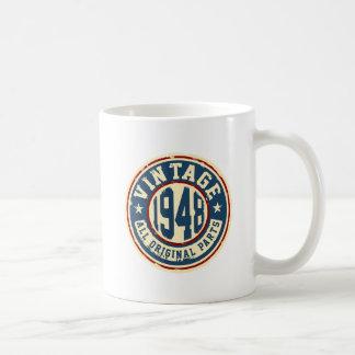 Vintage 1948 All Original Parts Coffee Mug