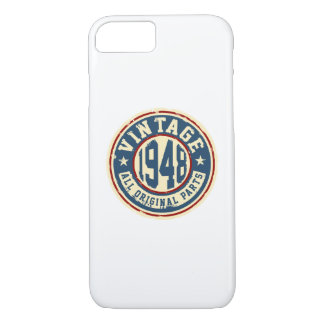 Vintage 1948 All Original Parts iPhone 8/7 Case