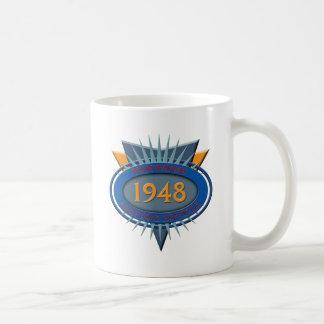 Vintage 1948 coffee mug
