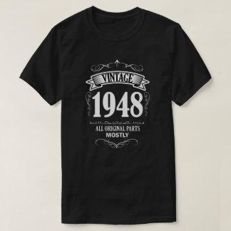 Vintage 1948 funny 70th Birthday Men's Shirt