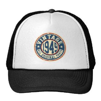 Vintage 1949 All Original Parts Trucker Hat