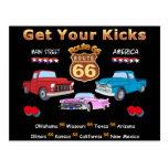 Vintage 1950s  Route 66 Postcard