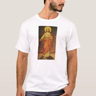 Vintage 1950's Sacred Heart of Jesus T-Shirt
