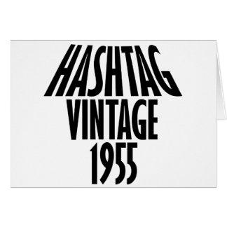 vintage 1955 designs card