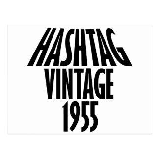 vintage 1955 designs postcard