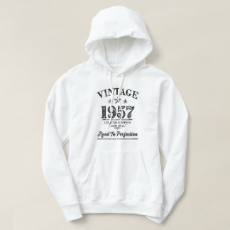 Vintage 1957 - 60th Birthday Hoodie Sweater Men's