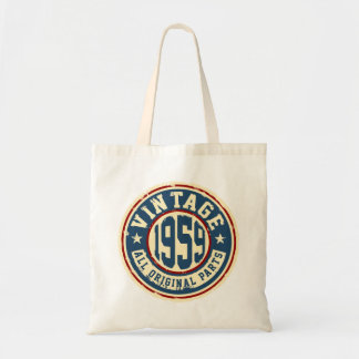 Vintage 1959 All Original Parts Tote Bag