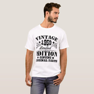 VINTAGE 1959 LIMITED EDITION GENUINE ORIGINAL PART T-Shirt