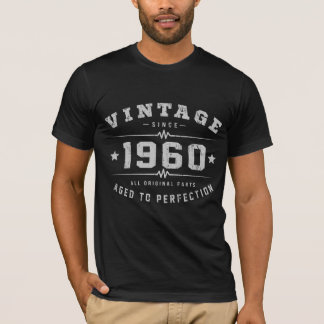 Vintage 1960 Birthday T-Shirt