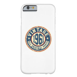 Vintage 1961 All Original Parts Barely There iPhone 6 Case