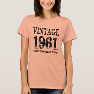 Vintage 1961 Birth Year Aged To Perfection Shirt