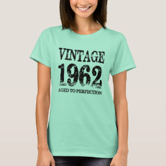 Vintage 1962 Birth Year Aged To Perfection Shirt