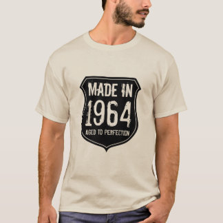 Vintage 1964 aged to perfection t shirt for men