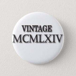 Vintage 1964 Roman 2 Inch Round Button