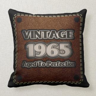 Vintage 1965 - Aged To Perfection Throw Pillow