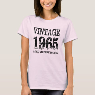 Vintage 1965 Birth Year Aged To Perfection Shirt