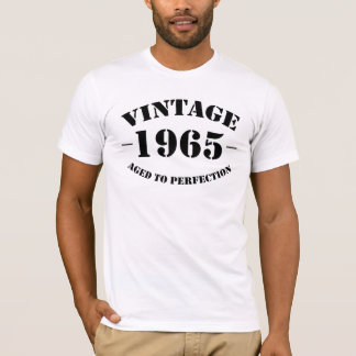 Vintage 1965 Birthday aged to perfection T-Shirt