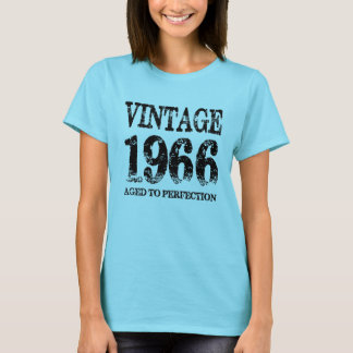 Vintage 1966 Birth Year Aged To Perfection Shirt
