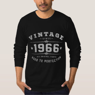 Vintage 1966 Birthday T-Shirt