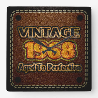 Vintage 1968 - Aged To Perfection Wallclocks