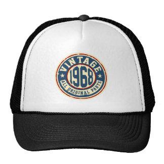 Vintage 1968 All Original Parts Trucker Hat