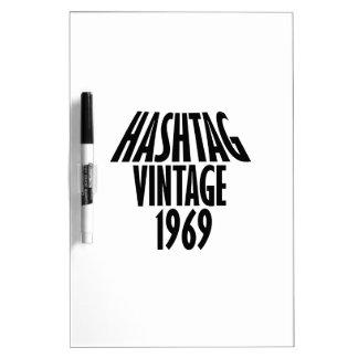 vintage 1969 designs dry erase boards