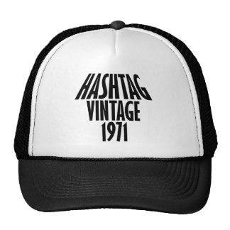 vintage 1969 designs trucker hat