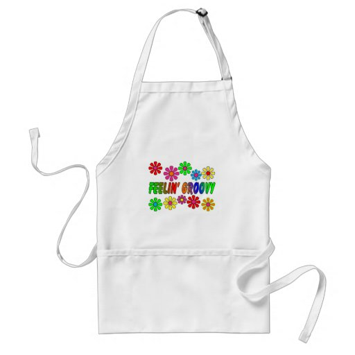 """Vintage 1970's """"Feelin' Groovy"""" gifts Aprons"""