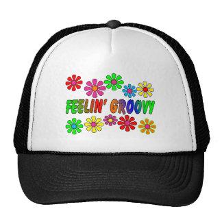 """Vintage 1970's """"Feelin' Groovy"""" gifts Trucker Hat"""