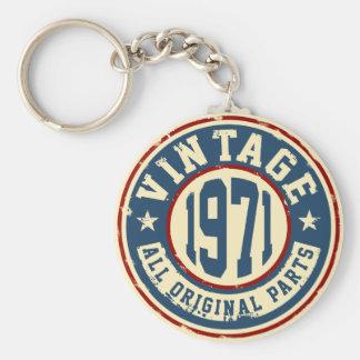 Vintage 1971 All Original Part Keychain