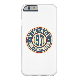 Vintage 1971 All Original Parts Barely There iPhone 6 Case