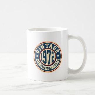 Vintage 1972 All Original Parts Coffee Mug