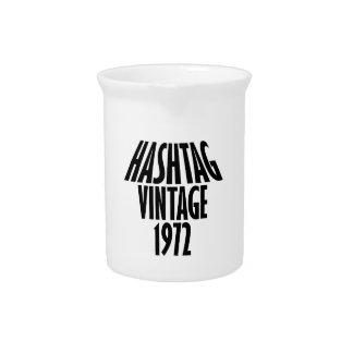 vintage 1972 designs drink pitcher