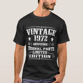 VINTAGE 1972 GENUINE ORIGINAL PARTS LIMITED T-Shirt