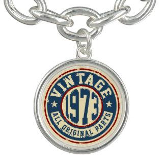 Vintage 1973 All Original Parts Charm Bracelet