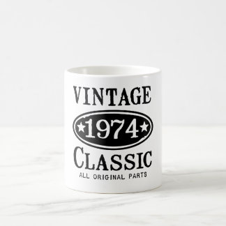 Vintage 1974 Classic Gifts Mugs