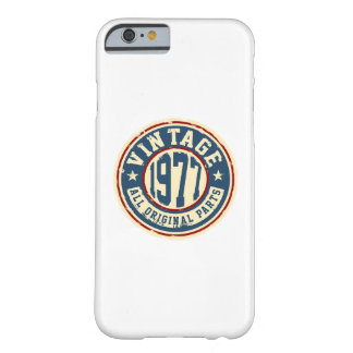 Vintage 1977 All Original Parts Barely There iPhone 6 Case